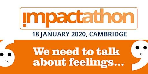 Impactathon: We need to talk about feelings!