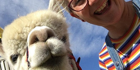 Walk an Alpaca Session tickets