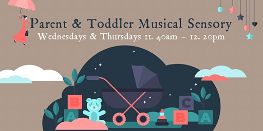 Parent & Toddler Musical Sensory Sessions