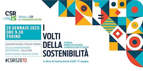 Il Salone della CSR e dell'innovazione sociale - Torino 2020 biglietti
