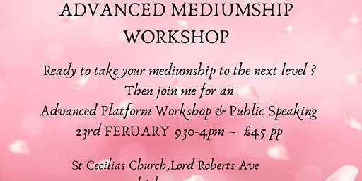 Advanced Platform Mediumship Workshop