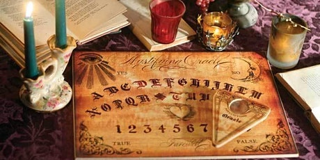 Contact Spirit - Spirit Board, Scrying, Table Tipping, Seance, Dowsing tickets