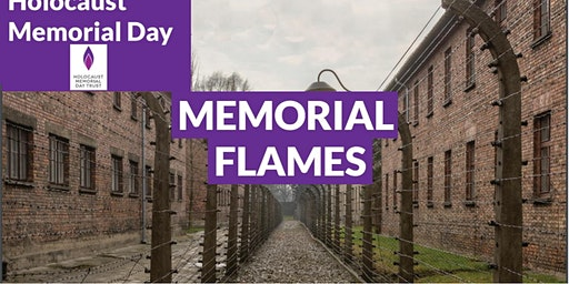 Memorial Flames for Holocaust Memorial Day (Eccleston) #HMD2020