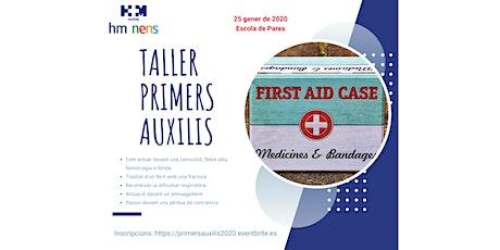 Taller de primers auxilis en Pediatria 2020 entradas