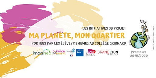 """Présentation des initiatives du projet """"Ma planète, mon quartier"""""""