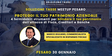 Soluzione Tasse MeetUp - Pesaro biglietti