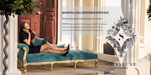 Rainhill Hall Wedding Open Day