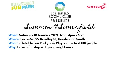 Summer at Somerfield - Inflatable Fun Park