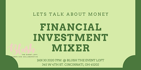 Financial Investment Mixer with Mr. Hafford tickets