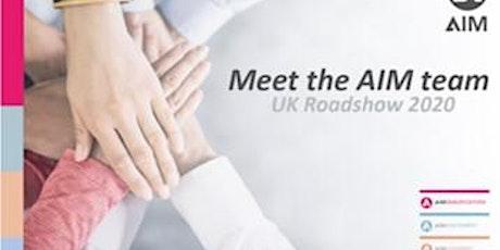 Meet the AIM team: Manchester tickets