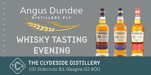 Tomintoul Whisky Tasting Evening