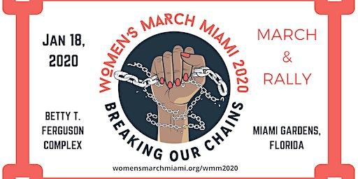 Women's March Miami 2020 March & Rally