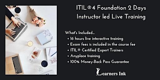 ITIL®4 Foundation 2 Days Certification Training in Pueblo