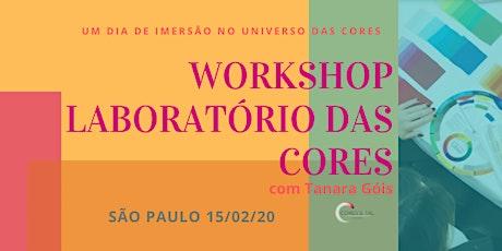 WORKSHOP LABORATÓRIO DA CORES EM SÃO PAULO ingressos
