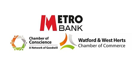 MetroBank Watford Networking Event- 17th April 2020 tickets
