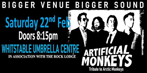Artificial Monkeys (Arctic Monkeys Tribute) live in Whitstable