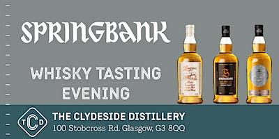 Springbank Whisky Tasting Evening