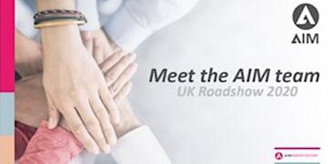 Meet the AIM Team: Exeter tickets