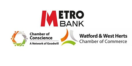 MetroBank Watford Networking Event-17th July 2020 tickets