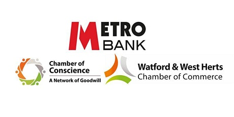 MetroBank Borehamwood Networking Event-7th August 2020 tickets
