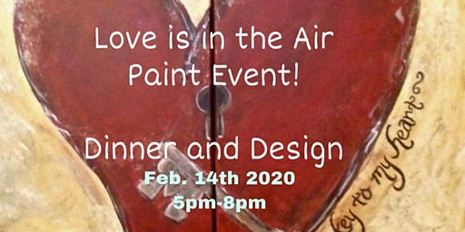 Love is in the Air Paint Event!