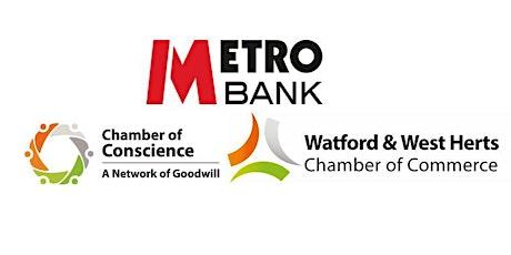 MetroBank Watford Networking Event-21st August 2020 tickets