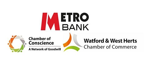 MetroBank Borehamwood Networking Event-4th September 2020 tickets