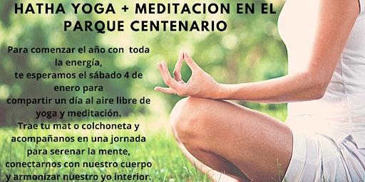 Hatha Yoga + Meditación en el Parque Centenario