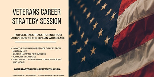 FREE - Veterans Career Strategy Session