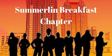 Summerlin Breakfast Referaal Group of TEAM tickets