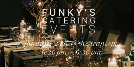 Funky's Catering Events - January Winter Wine Dinner billets