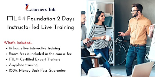 ITIL®4 Foundation 2 Days Certification Training in Evansville