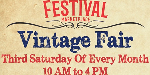 Vintage Fair At The Festival Marketplace