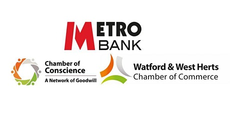 MetroBank Watford Networking Event-16th October 2020 tickets