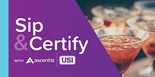 Sip & Certify - Minneapolis, February 2020