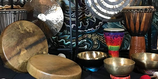 Sacred Sound: Drum and Gong Meditation