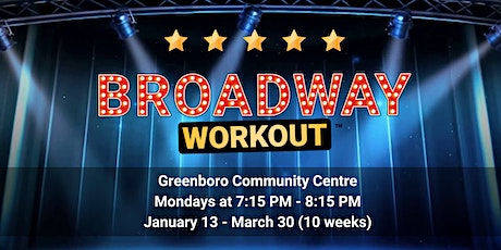 Broadway Workout - Greenboro tickets