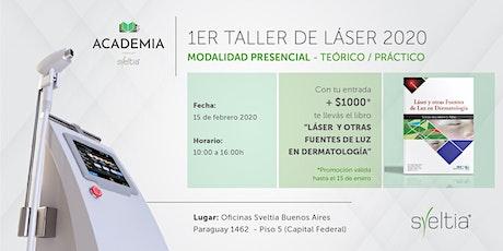 1er Taller de Láser 2020 entradas