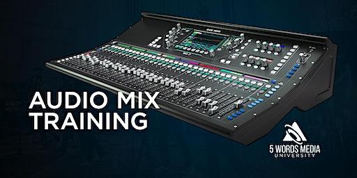 Audio Mix Training Event