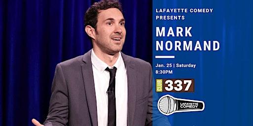 Mark Normand (Tonight Show, Joe Rogan, Comedy Central) at Club 337