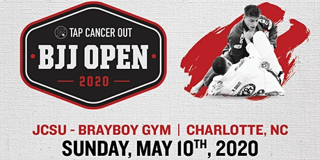 Tap Cancer Out 2020 Charlotte BJJ Open - Coach and Spectator Tickets tickets
