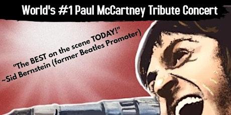 World's #1 Paul McCartney Tribute Experience tickets
