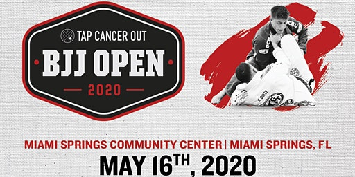 Tap Cancer Out 2020 Miami BJJ Open - Coach and Spectator Tickets