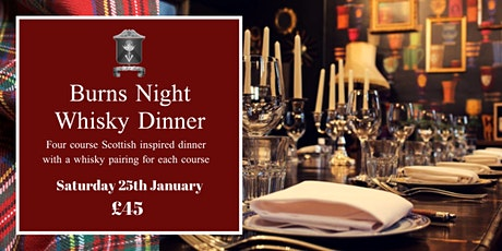 Burns Night Whisky Dinner at The Milk Thistle tickets