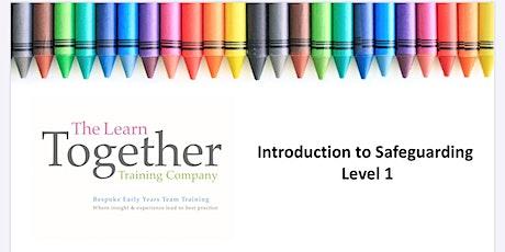 Safeguarding Training Level 1 tickets