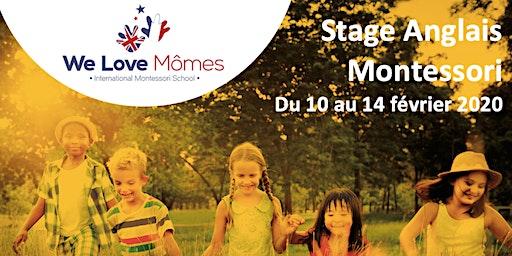 Stage Anglais/Montessori  - vacances de février 2020