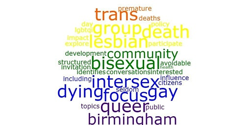 Seldom Heard Conversations – Death and Dying for the LGBTQI Community