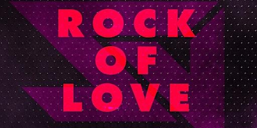 """VIRGINIA WEST's """"Stadium Virginium IX-Rock of Love """" AXIS SAT FEB 29th 9PM"""