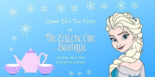 Queen Elsa Tea Party