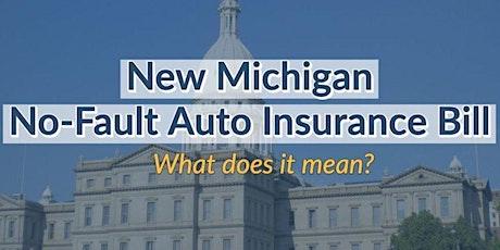 Michigan No-Fault Insurance Reform Workshop tickets